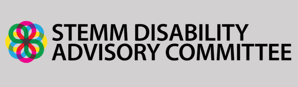STEM Disability Committee logo